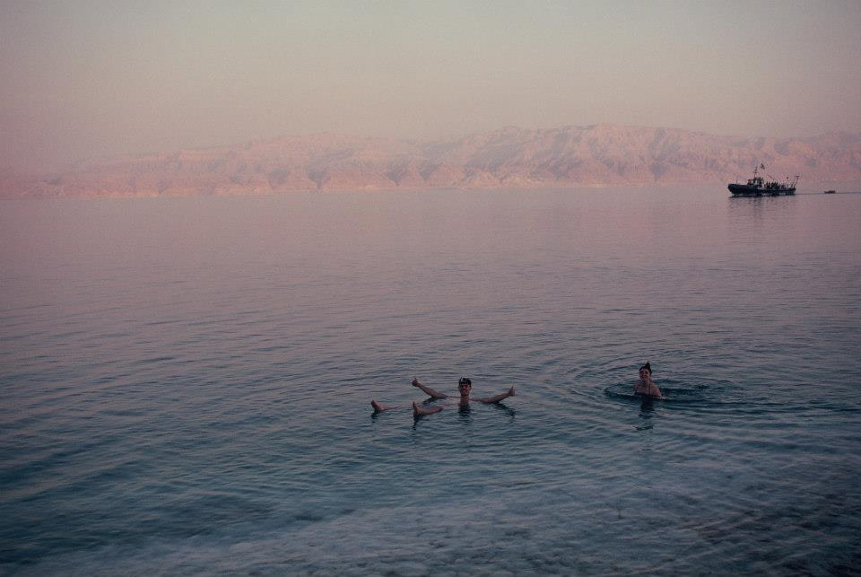 In the dead sea